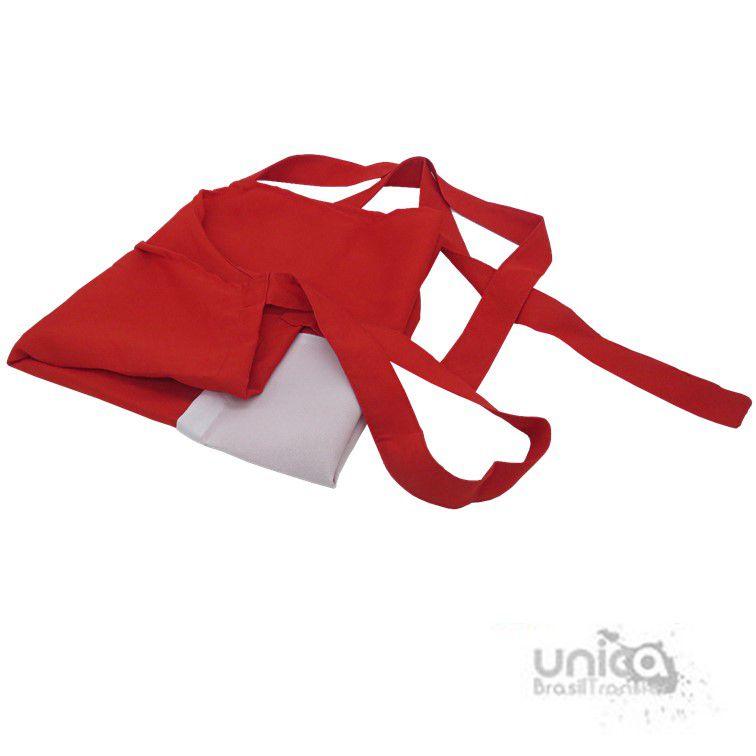 Avental com bolso para sublimação