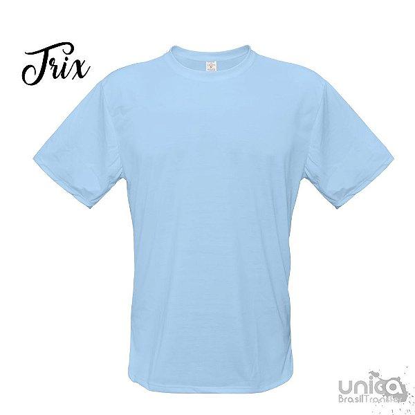 Camiseta Poliester - Azul Bebe
