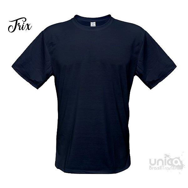 Camiseta Poliester - Azul Marinho