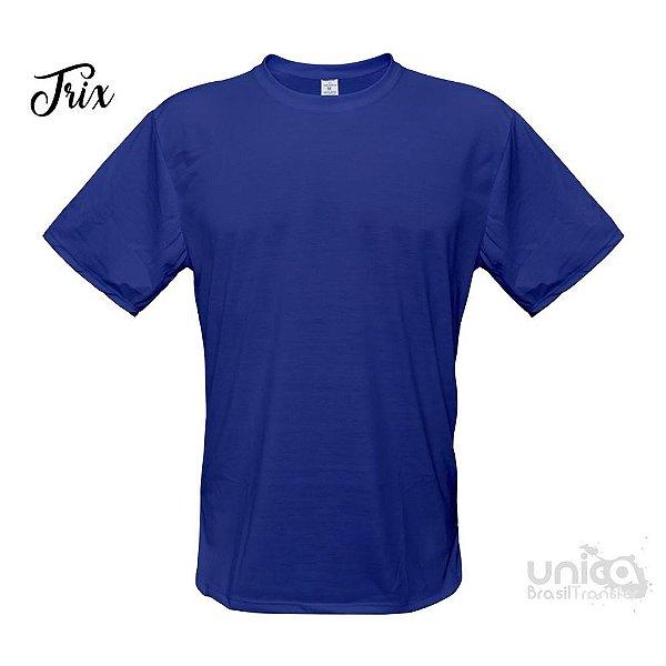 Camiseta Poliester - Azul Royal