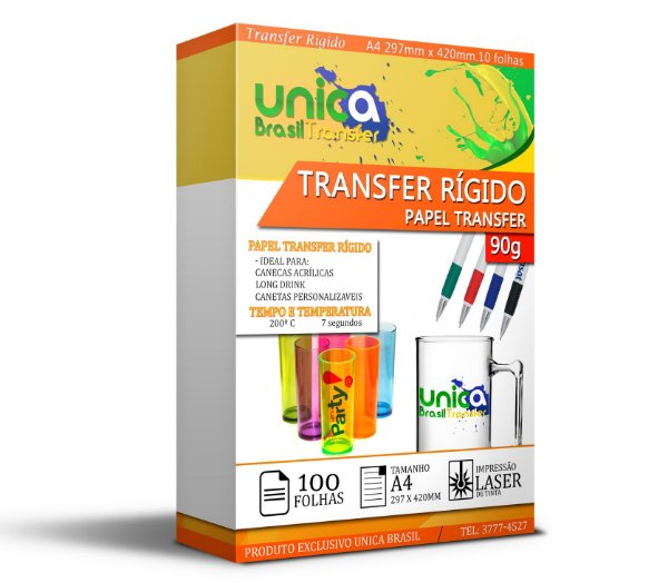 Papel Transfer Rigido 90g