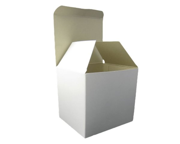 Caixinha Para Caneca Branca Simples - 12 Unidades