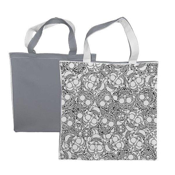 Eco Bag 35x35 Para Sublimação - Cinza