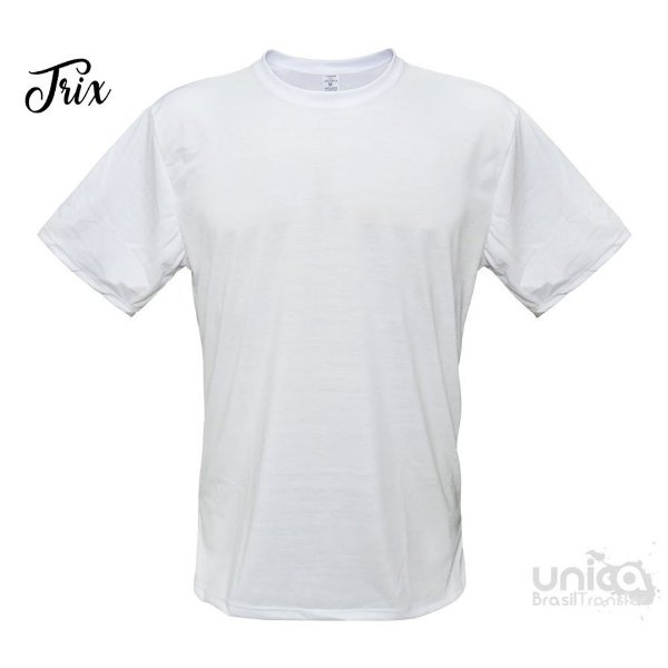 Camiseta Poliester - Branca