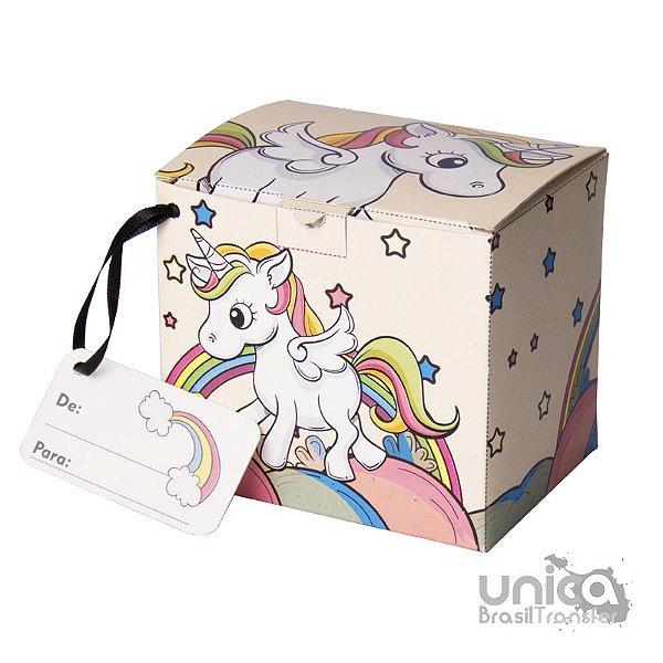 Caixinha Para Caneca Unicornio - 12 Unidades