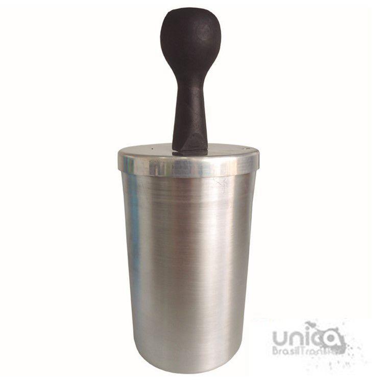 Culote de alumínio para caneca