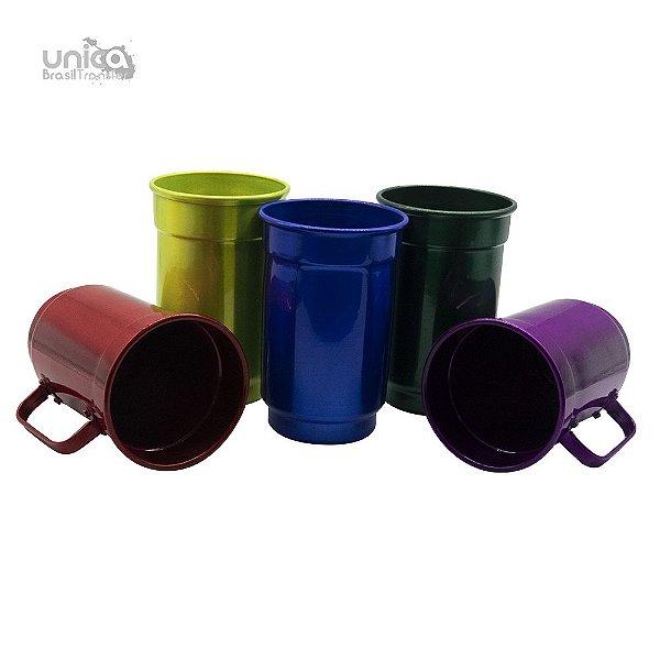 Caneca De Aluminio Colours - 750ml