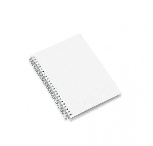 Caderno Pequeno com Capa Pet para Sublimação - 23,6x16,7 cm