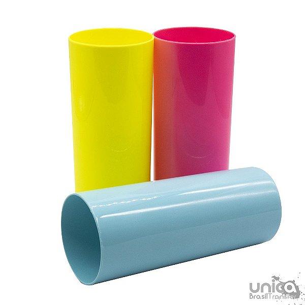 Copo Long Drink em Polímero para Sublimação 320ml