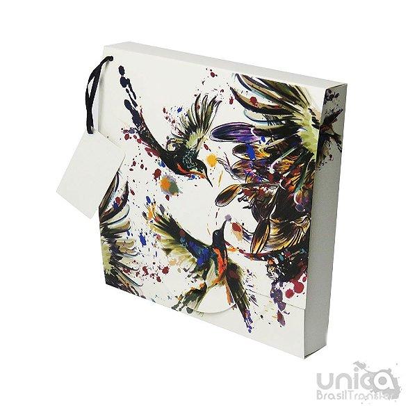 Caixinha Para Camiseta Beija Flor - 3 Unidades