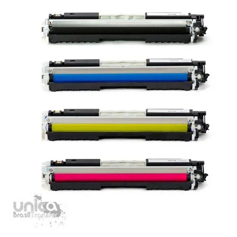 Toner Compatível Com Impressora HP CE310 CE311 CE312 CE313