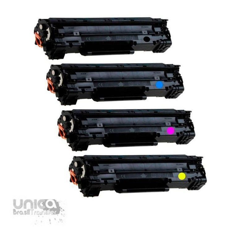Toner Compatível Com Impressora HP CF400X CF401X CF 402X CF403X