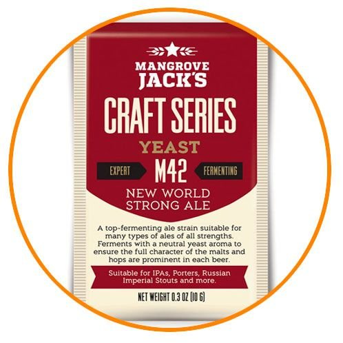 FERMENTO NEW WORLD STRONG ALE - MANGROVE JACKS M42