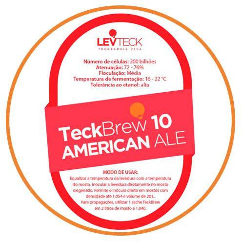 FERMENTO TECKBREW - AMERICAN ALE - TB10