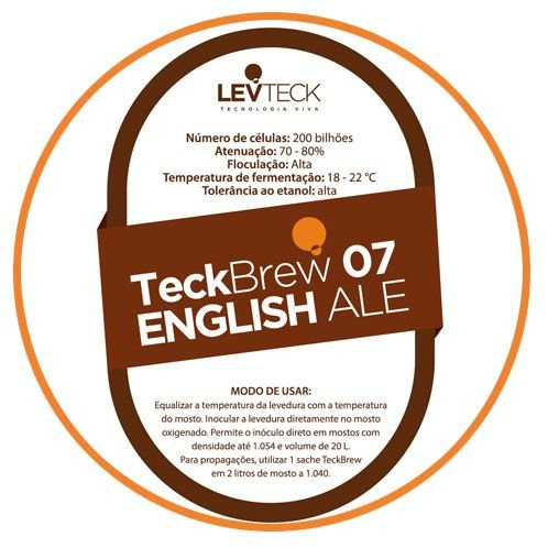 FERMENTO TECKBREW - ENGLISH ALE - TB07