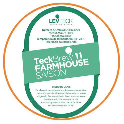 FERMENTO TECKBREW - FARMHOUSE SAISON - TB11