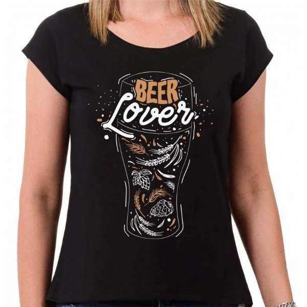 CAMISETA BEER LOVE FEMININA