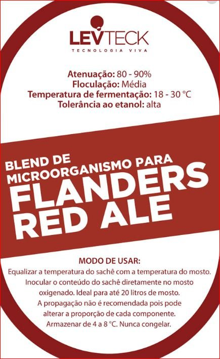 FLANDERS RED ALE - LEVTECK