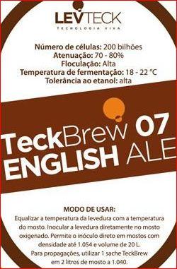 FERMENTO LEVTECK  - ENGLISH ALE - TB07