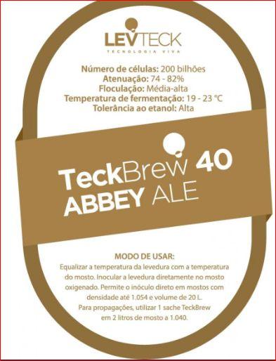 FERMENTO LEVTECK  - ABBEY ALE - TB40