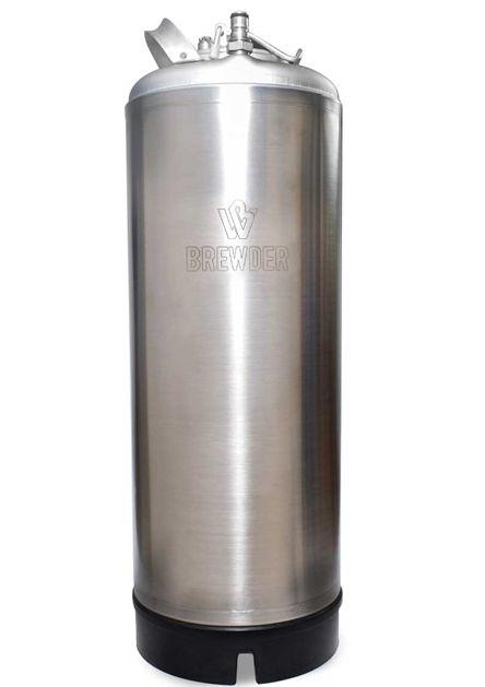 BARRIL POST MIX  BREWDER ITALIANO INOX - 19 Litros