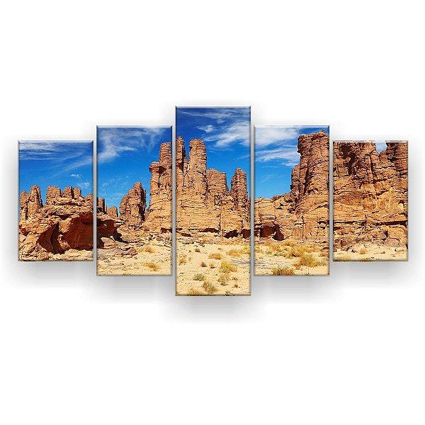 Quadro Decorativo Deserto 129x61 5pc Sala
