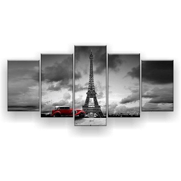 Quadro Decorativo Torre Car 129x61 5pc Sala