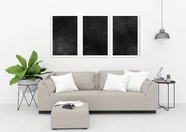Quadro Decorativo Buraco Negro 115x57 Sala Quarto