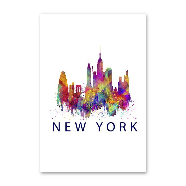Quadro Decorativo New York 20x30