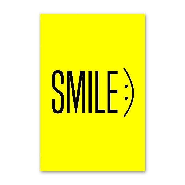 Quadro Decorativo Smile 1 - 20x30