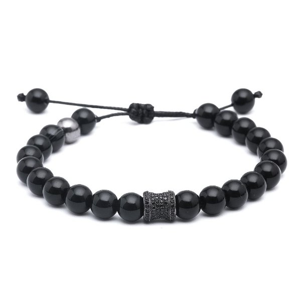 Pulseira Exclusive Onix 08mm
