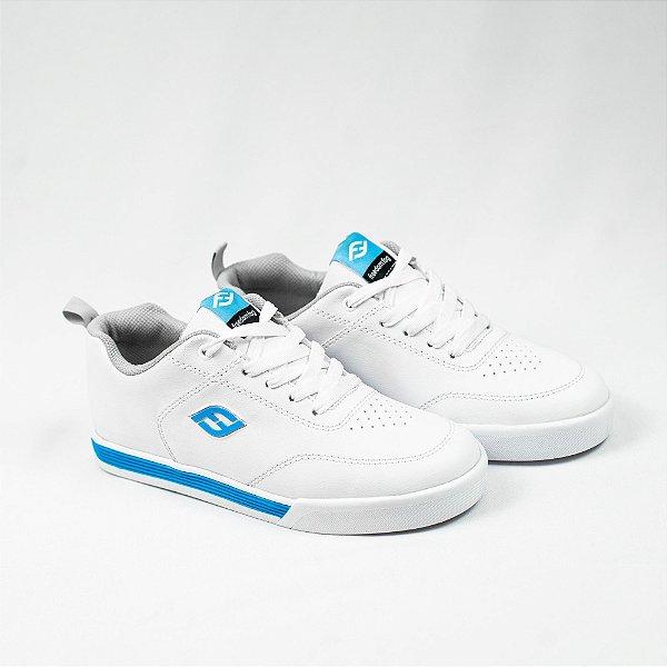 Tênis Max Full Branco Azul
