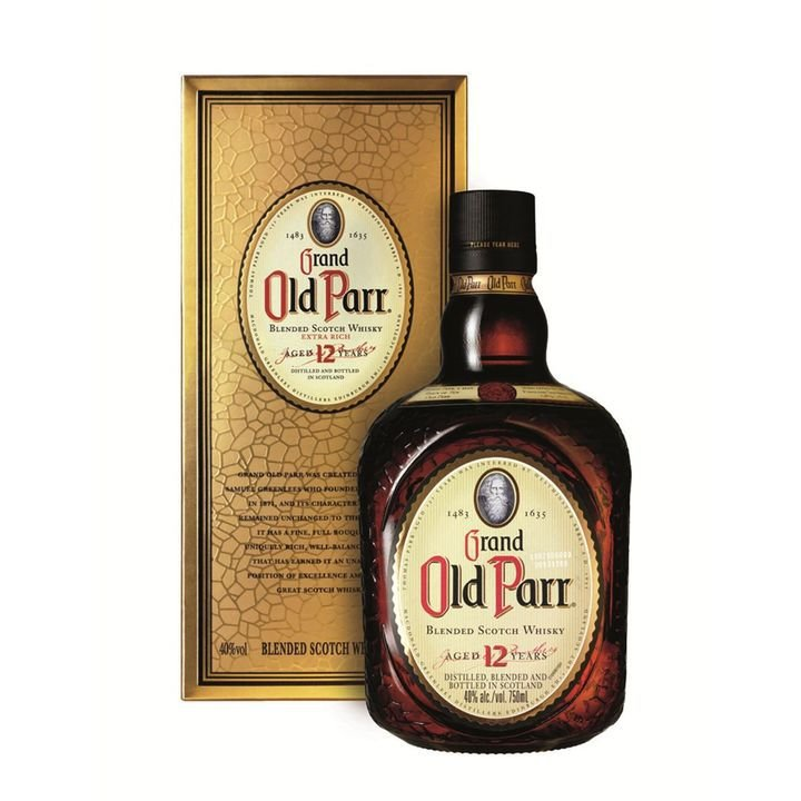 Whisky Grand Old Parr Escocês 12 Anos 750 ml
