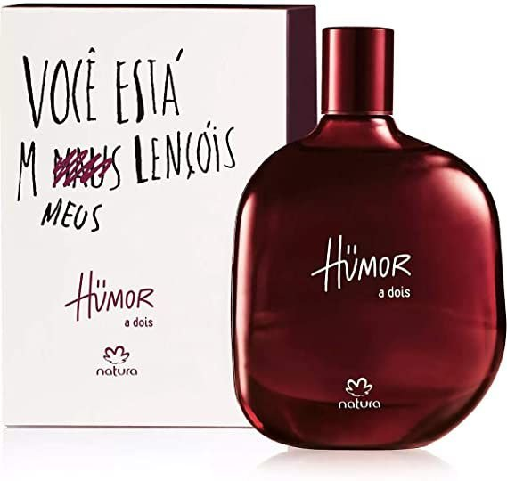 HUMOR A DOIS - Desodorante Colônia Humor a Dois Masculino - 75ml