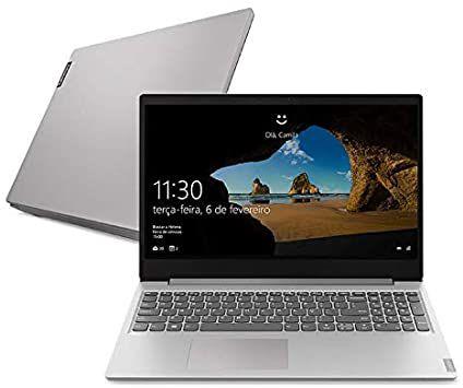 Notebook Lenovo IdeaPad S145-15IKB, 81XM0002BR, Intel Core i3, Windows 10, 4GB, 1TB HD, 15.3'', Prata