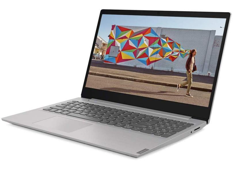 "Notebook Lenovo Ultrafino Ideapad S145 Ryzen 5, RAM 12GB, HD 1TB, Windows 10, Tela 15.6"", Prata"