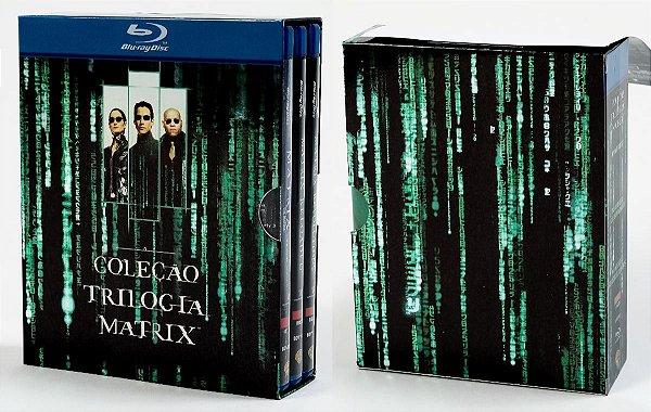 Blu-Ray Coleção Matrix - A Trilogia - 3 Discos
