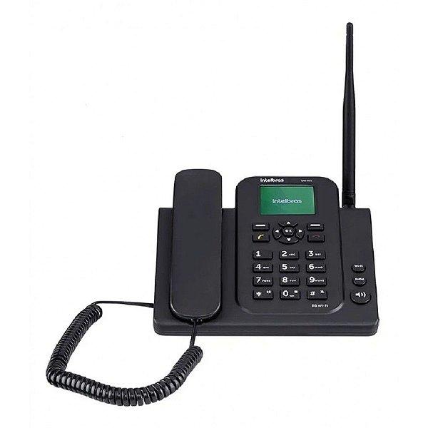 Telefone Celular Fixo Intelbras CFW 9041 Preto 4G Wi-Fi