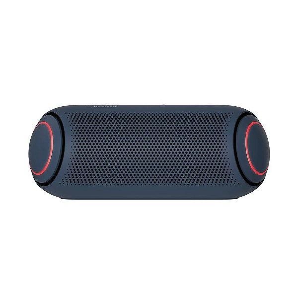 Caixa de Som Portátil LG Xboom Go PL5 Meridian, Bluetooth, Surround, 18 Horas Bateria, IPX5, Comando de Voz, 20W