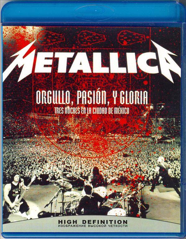 Metallica – Orgulho, Paixão e Glória – Três Noites Na Cidade Do México Blu ray