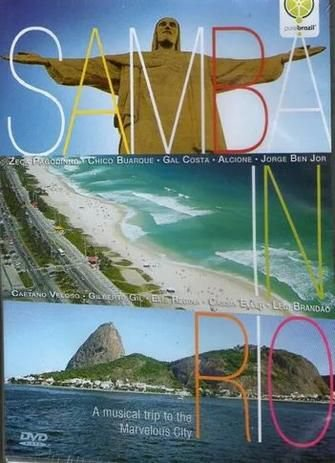 DVD Samba in Rio - A musical trip to the Marvelous City