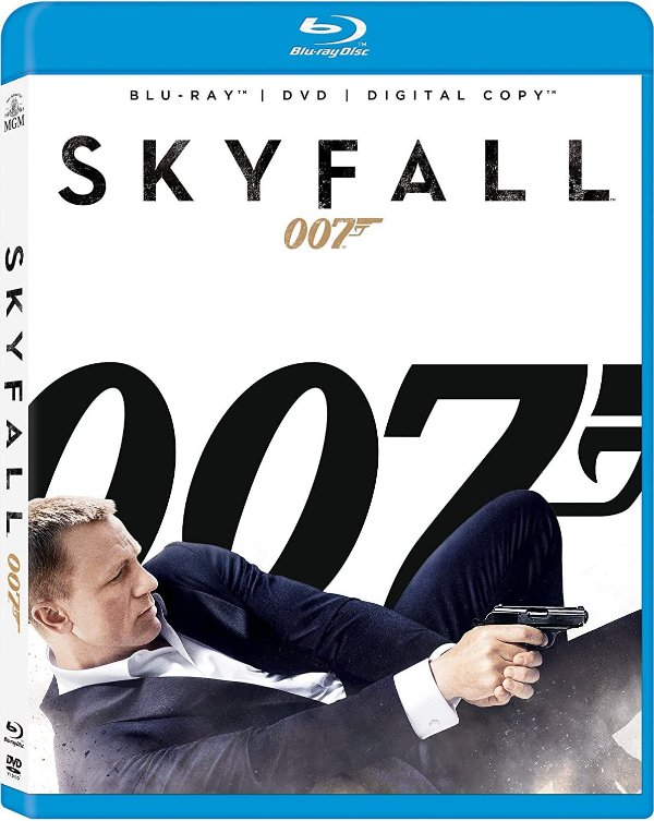 Skyfall - Daniel Craig, Sam Mendes (Diretor)  Blu-ray