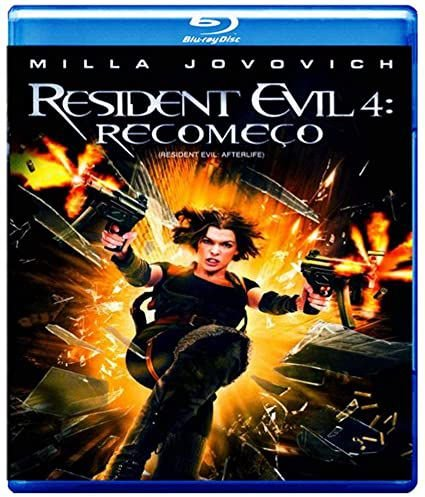 Resident Evil 4 - Recomeço - Formato: DVD