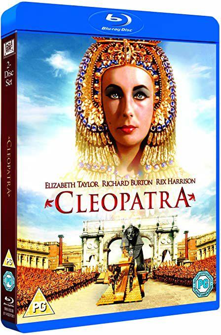Cleópatra - Edição Especial - 50º Aniversário - 2 Discos - Blu-ray