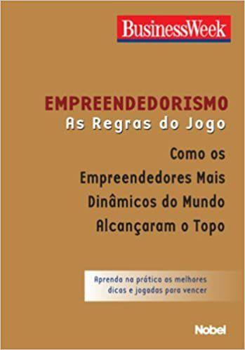 Empreendedorismo. As Regras do Jogo (Português) Capa comum