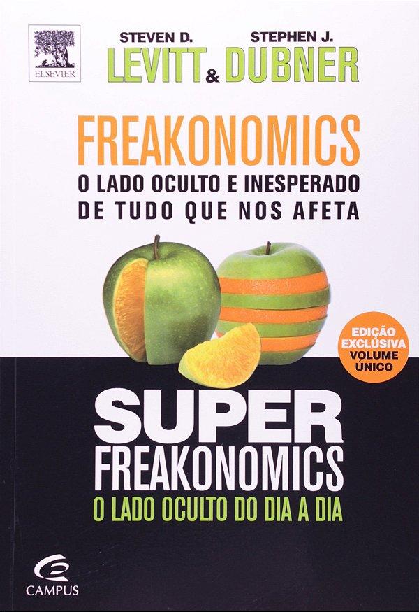 Freakonomics + Superfreakonomics - Edicao 2 Em 1 (Português) Capa comum