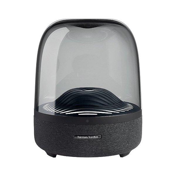 Caixa de Som Bluetooth Harman Kardon Aura Studio 3 com Iluminação Ambiente, 2 × 15W RMS + 100W RMS de Potência Bivolt