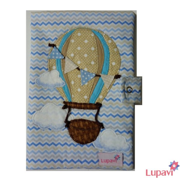 Capa Cartão de Vacinas Balão