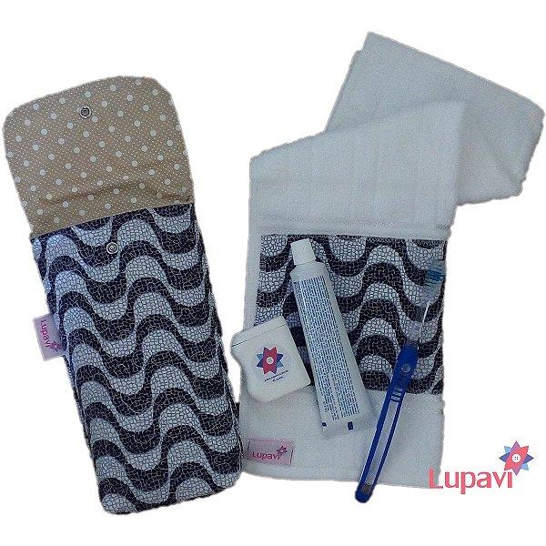 Kit Higiene Bucal com Toalha Higiênica Rio