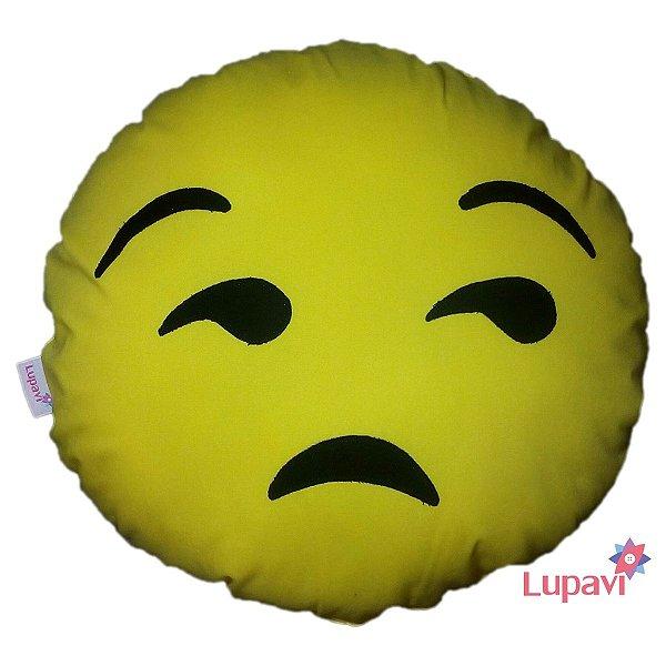 Almofada Emoji Chateado